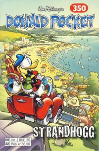Cover Thumbnail for Donald Pocket (Hjemmet / Egmont, 1968 series) #350 - Strandhogg