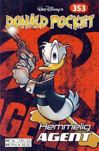 Cover Thumbnail for Donald Pocket (Hjemmet / Egmont, 1968 series) #353 - Hemmelig agent [1. opplag]