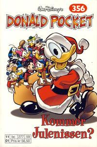 Cover Thumbnail for Donald Pocket (Hjemmet / Egmont, 1968 series) #356 - Kommer Julenissen? [Reutsendelse bc 277 59]