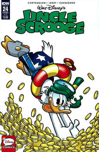 Cover Thumbnail for Uncle Scrooge (IDW, 2015 series) #24 /428 [Subscription Cover Variant]