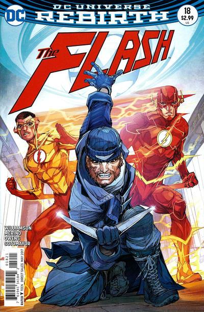 Cover for The Flash (DC, 2016 series) #18 [Carmine Di Giandomenico Cover]