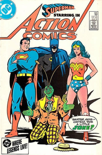 Cover for Action Comics (DC, 1938 series) #565 [Direct Sales]