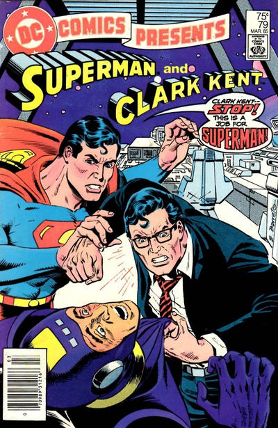 Cover for DC Comics Presents (DC, 1978 series) #79 [Direct]