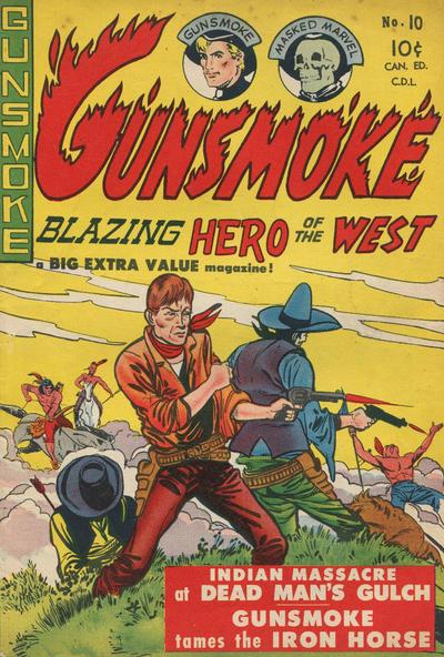 Cover for Gunsmoke (Export Publishing, 1949 series) #10