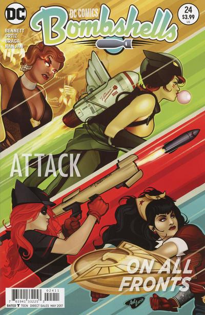 Cover for DC Comics: Bombshells (DC, 2015 series) #24