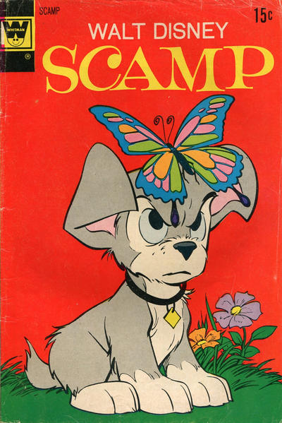 Cover for Walt Disney Scamp (Western, 1967 series) #8 [Gold Key Variant]