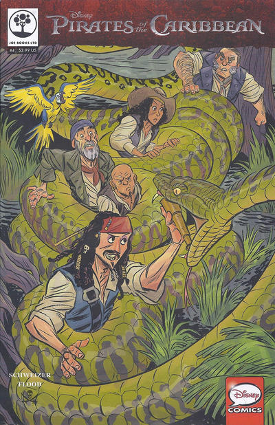 Cover for Disney Pirates of the Caribbean (Joe Books, 2016 series) #4