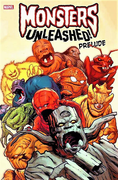 Cover for Monsters Unleashed Prelude (Marvel, 2017 series)
