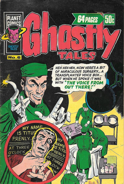 Cover for Ghostly Tales (K. G. Murray, 1977 series) #6