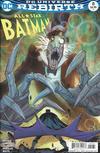 Cover for All Star Batman (DC, 2016 series) #8 [Giuseppe Camuncoli Variant Cover]