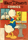 Cover for Walt Disney's Comics and Stories (Dell, 1940 series) #v13#12 (156) [Subscription Box Cover Variant]