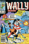 Cover for Wally the Wizard (Marvel, 1985 series) #5 [Newsstand Edition]