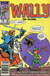 Cover for Wally the Wizard (Marvel, 1985 series) #10 [Newsstand Edition]