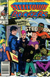 Cover for Steeltown Rockers (Marvel, 1990 series) #2 [Newsstand]