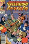 Cover for Steeltown Rockers (Marvel, 1990 series) #3 [Newsstand]