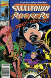 Cover for Steeltown Rockers (Marvel, 1990 series) #4 [Newsstand]