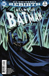 Cover for All Star Batman (DC, 2016 series) #8 [Francesco Francavilla Variant Cover]