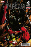 Cover for Venom (Marvel, 2017 series) #5