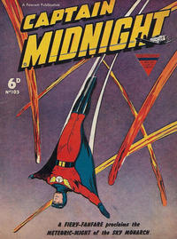 Cover Thumbnail for Captain Midnight (L. Miller & Son, 1950 series) #103