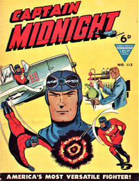 Cover Thumbnail for Captain Midnight (L. Miller & Son, 1950 series) #113