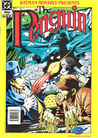 Cover Thumbnail for Batman Monthly Presents the Penquin (Egmont UK, 1990 series)