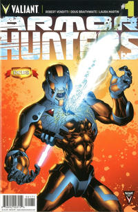 Cover Thumbnail for Armor Hunters (Valiant Entertainment, 2014 series) #1 [Cover G - DCBS - Jorge Molina]