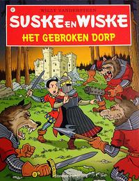 Cover Thumbnail for Suske en Wiske (Standaard Uitgeverij, 1967 series) #327 - Het gebroken dorp