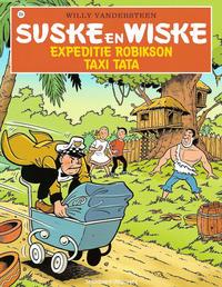 Cover Thumbnail for Suske en Wiske (Standaard Uitgeverij, 1967 series) #334 - Expeditie Robikson / Taxi Tata