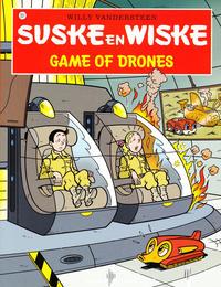 Cover Thumbnail for Suske en Wiske (Standaard Uitgeverij, 1967 series) #337 - Game of drones