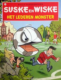 Cover Thumbnail for Suske en Wiske (Standaard Uitgeverij, 1967 series) #335 - Het lederen monster