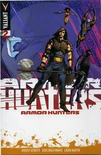 Cover Thumbnail for Armor Hunters (Valiant Entertainment, 2014 series) #2 [Cover C - Trevor Hairsine]