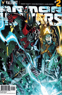 Cover Thumbnail for Armor Hunters (Valiant Entertainment, 2014 series) #2 [Cover D - Bryan Hitch]