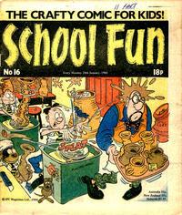 Cover Thumbnail for School Fun (IPC, 1983 series) #16