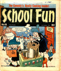 Cover Thumbnail for School Fun (IPC, 1983 series) #18