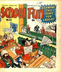 Cover Thumbnail for School Fun (IPC, 1983 series) #22