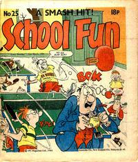 Cover Thumbnail for School Fun (IPC, 1983 series) #25