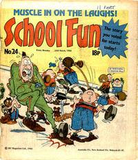 Cover Thumbnail for School Fun (IPC, 1983 series) #24