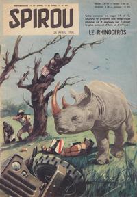 Cover Thumbnail for Spirou (Dupuis, 1947 series) #941