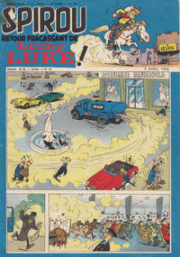 Cover Thumbnail for Spirou (Dupuis, 1947 series) #938