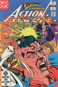 Cover Thumbnail for Action Comics (DC, 1938 series) #540 [Direct-Sales]