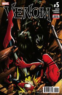 Cover Thumbnail for Venom (Marvel, 2017 series) #5