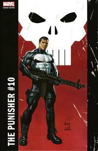 Cover Thumbnail for The Punisher (Marvel, 2016 series) #10 [Incentive Joe Jusko 'Corner Box' Variant]