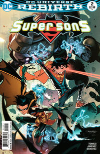 Cover Thumbnail for Super Sons (DC, 2017 series) #2