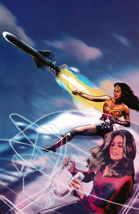 Cover Thumbnail for Wonder Woman '77 Meets the Bionic Woman (Dynamite Entertainment, 2016 series) #3 [Cover C Retailer Incentive 'Virgin Art' Staggs]