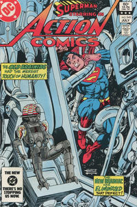 Cover Thumbnail for Action Comics (DC, 1938 series) #545 [Direct Edition]