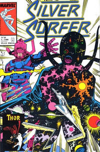 Cover Thumbnail for Silver Surfer (Play Press, 1989 series) #10