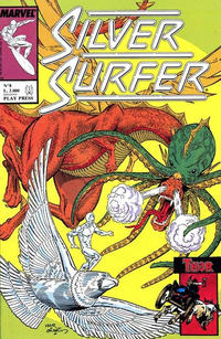 Cover Thumbnail for Silver Surfer (Play Press, 1989 series) #8