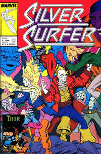 Cover Thumbnail for Silver Surfer (Play Press, 1989 series) #11