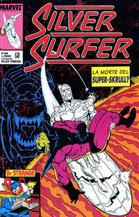 Cover Thumbnail for Silver Surfer (Play Press, 1989 series) #28