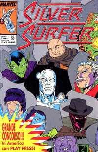Cover Thumbnail for Silver Surfer (Play Press, 1989 series) #30
